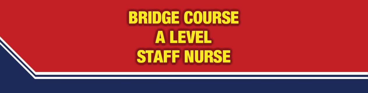 Bridge course  level staff nurse